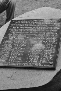 Připomínka perzekuce českých studentů po 17. listopadu 1939 /AS