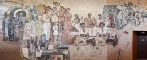 Milovická sorela, údajně největší středoevropská mozaika / MŽ