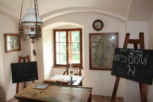 Židovská škola, téma jednoho z referátů / DF