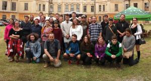 Závěrečná docházka u zámku v Hoříně / MM