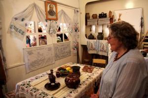 Expozice v ukrajinské škole v Mirohošti / DF