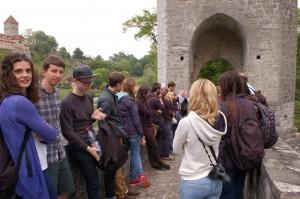 Na tzv. Mostě legendy v Sauveterre / KCh