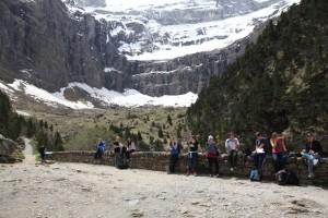 Odpočinek před závěrečným pyrenejským výstupem / DF