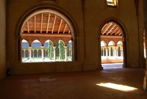 """Kapitulní síň kláštera """"jakobínů"""" v Toulouse / KCh"""