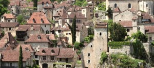Město červených střech, Saint-Cirq-Lapopie / DF