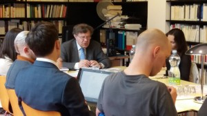 Setkání s prof. Rogerem Chartierem